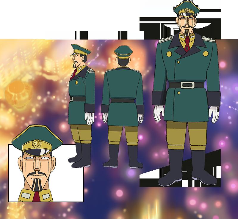 全体:バジル将軍