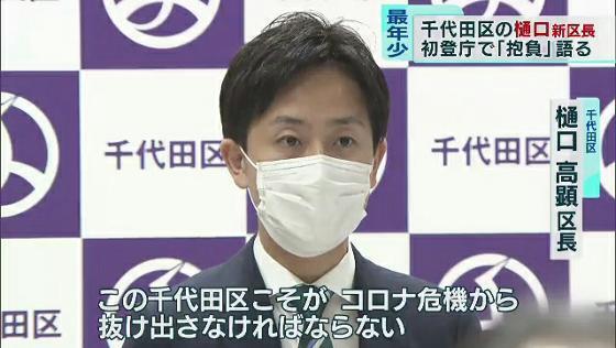 千代田 区長 選挙